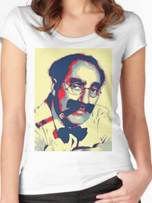 Groucho Marx Women's Fitted Scoop T-Shirt