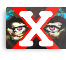 X Ray Eyes Metal Print
