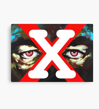 X Ray Eyes Canvas Print