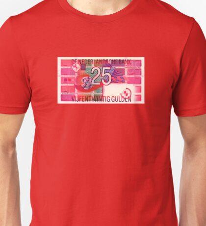 Vijfentwintig gulden Unisex T-Shirt