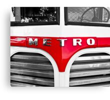 Metro Custard Canvas Print