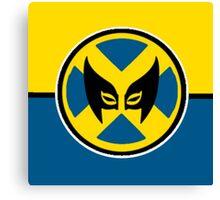 Wolverine Symbol Canvas Print