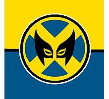 Wolverine Symbol Photographic Print