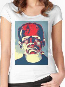 Boris Karloff in The Bride of Frankenstein Women's Fitted Scoop T-Shirt