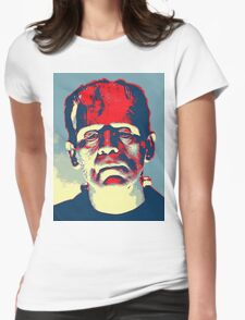Boris Karloff in The Bride of Frankenstein Womens Fitted T-Shirt
