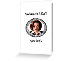The X-Files - You Don't Greeting Card