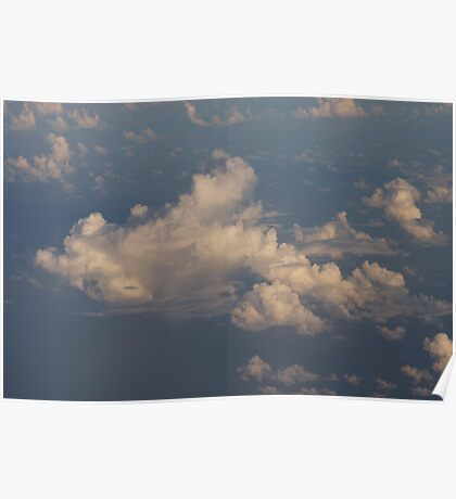 Clouds from above . . . Poster