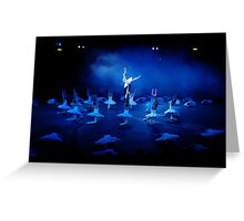 Swan Lake National English Ballet.  Greeting Card