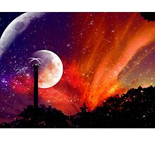 ZhuRong, Planet of Fire, Andromeda Galaxy Photographic Print