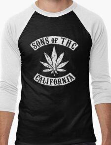 Sons of THC - California Men's Baseball ¾ T-Shirt