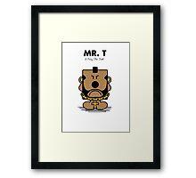 Mr. T Framed Print