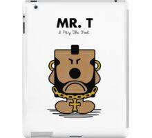 Mr. T iPad Case/Skin