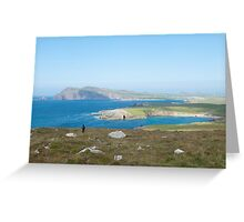 Dingle peninsula, Kerry, Ireland. Greeting Card