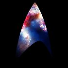 Galaxy Starfleet Insignia Ipad Case by antisocialite