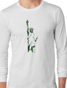 liberty usa new york america Long Sleeve T-Shirt