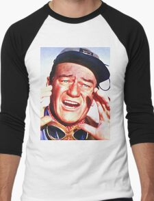 John Wayne in Hatari! Men's Baseball ¾ T-Shirt