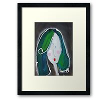 V - from Alphabet Gal collection Framed Print