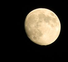Full Moon Through Ambient Light by Navigator