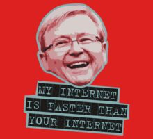 Kevin Rudd - My Internet is faster than your Internet by waynejay