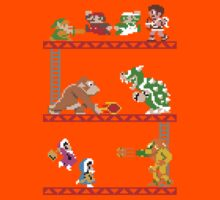 8 Bit Smash Bros. Kids Clothes