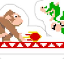 8 Bit Smash Bros. Sticker