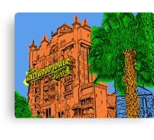 Tower of Terror Disney World Canvas Print