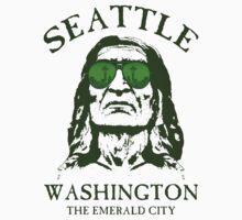Seattle-The Emerald City Kids Tee