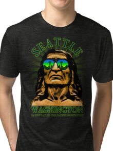 Seattle - Gateway to the Pacific Northwest Tri-blend T-Shirt