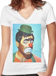 Jerry Lewis in The Family Jewels Women's Fitted V-Neck T-Shirt