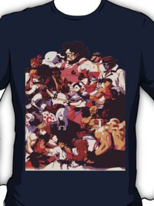 Street Fighter 3: 3rd Strike Cast T-Shirt