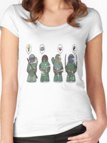 Ninja Turtles Women's Fitted Scoop T-Shirt