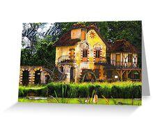 Versailles Mill Greeting Card