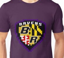 8Bit Ravens Coat of Arms Unisex T-Shirt