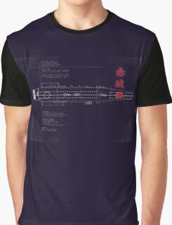 Aircraft Carrier Akagi Graphic T-Shirt