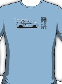 Toyota AW11 MR2 - AERO - TEE (W/ White Arrows) T-Shirt