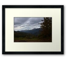 Pollino National Park Framed Print