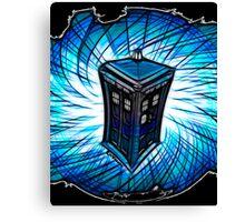Dr Who - The Tardis Canvas Print
