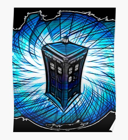 Dr Who - The Tardis Poster
