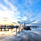 The Sunset Ferry by John Sharp