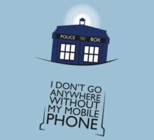 Mobile Phone - TARDIS by NoTHEnd
