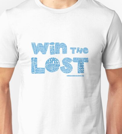 Four Fold Mission - Win The Lost Unisex T-Shirt