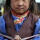 Girl, Upper Dolpo by LeighBlake