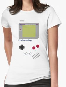 Pro Gamer Boy Womens Fitted T-Shirt