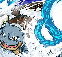 Blastoise | Hydro Cannon by ishmam