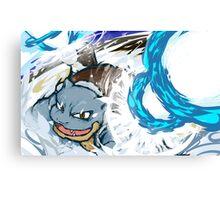 Blastoise | Hydro Cannon Canvas Print