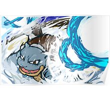 Blastoise | Hydro Cannon Poster