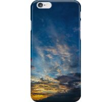 Sunset Over Lake Michigan iPhone Case/Skin