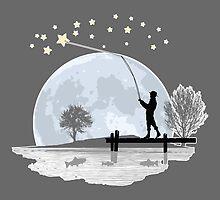 Star Fishing by KAMonkey