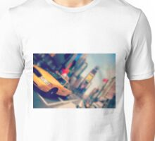 new york city times square taxi Unisex T-Shirt