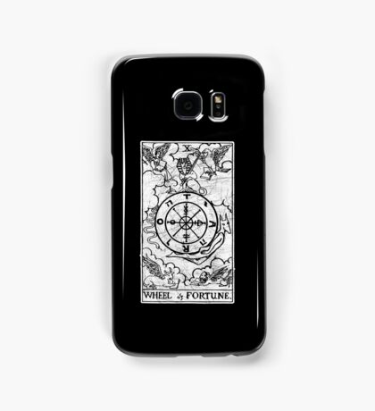 Wheel of Fortune Tarot Card - Major Arcana - fortune telling - occult Samsung Galaxy Case/Skin